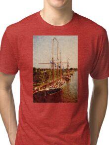 West Bank Tall Ships - Bay City - 2010 Tri-blend T-Shirt