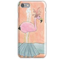 F is for Flamingo iPhone Case/Skin