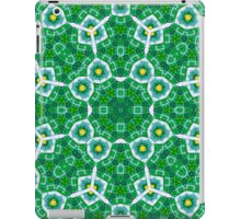 Abstract Pattern Green blue iPad Case/Skin