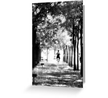 A Ride in the Park Greeting Card