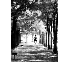 A Ride in the Park Photographic Print
