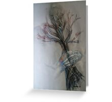 Grabbing Trees Greeting Card