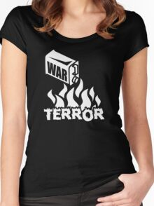War on Terror - Fuel to the Fire Women's Fitted Scoop T-Shirt