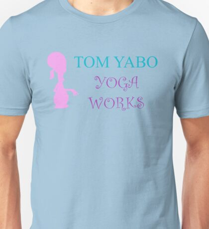 Tom Yabo Yoga Works - American Dad Unisex T-Shirt