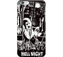 night hell iPhone Case/Skin