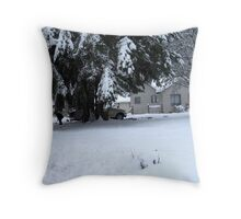 BRRR! Throw Pillow