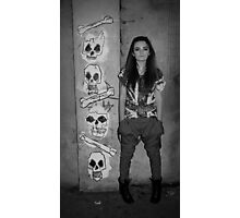 skulls and crossbones. Photographic Print