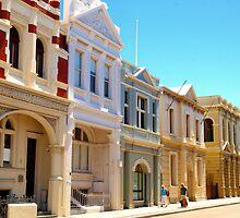 Downtown Fremantle by John Peel