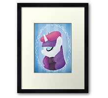 the pony everypony should know Framed Print