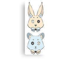 Bunny & Co. Canvas Print