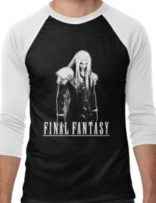 Sephiroth T-Shirt Men's Baseball ¾ T-Shirt