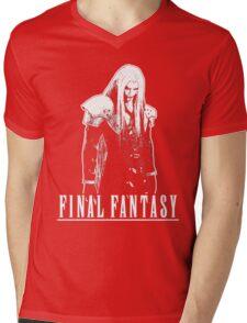 Sephiroth T-Shirt Mens V-Neck T-Shirt