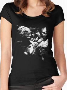 Silent Hill Nurses T-Shirt Women's Fitted Scoop T-Shirt