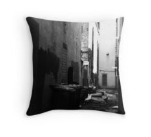 The hallowing walls Throw Pillow