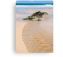 Bedruthan Beach Canvas Print