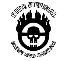 Mad Max - Warboy Skull Wheel - 'Ride Eternal Shiny and Chrome' by MikeTheGinger94
