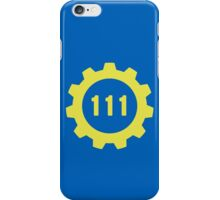 Vault 111 Vector iPhone Case/Skin