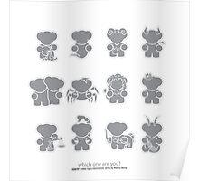 ZODIAC Minimalistic Series Poster