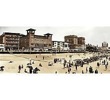 A day at the Beach, Atlantic City, 1915 Photographic Print