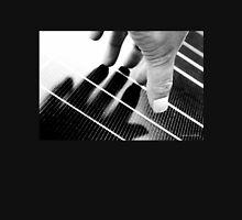 Hand Shadow on a Solar Panel Unisex T-Shirt