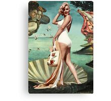 The Birth of Marilyn Monroe Canvas Print