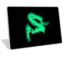 Green Neon Laptop Skin