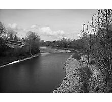 Bow River in Downtown Calgary Photographic Print