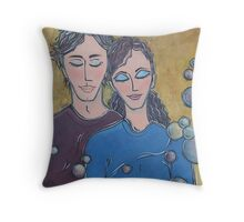 Feel the Love Throw Pillow
