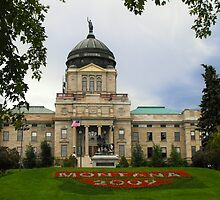 Montana Capitol Building by Susan Russell