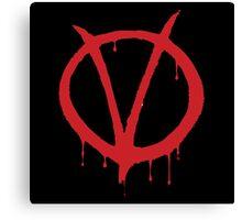 V for Vendetta - Alan Moore Canvas Print
