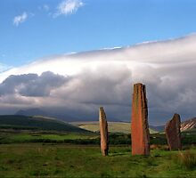 Standing Stones, Machrie Moor by Clare McClelland