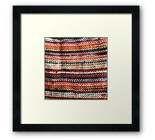 Autumn Knit Framed Print