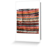 Autumn Knit Greeting Card