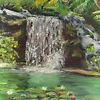 Hawaiian Waterfall - Serenity by Victoria Mistretta