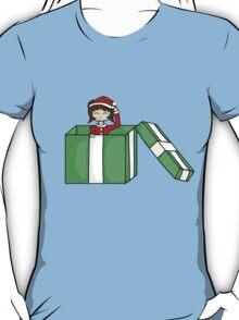 Chibi in a christmas box T-Shirt