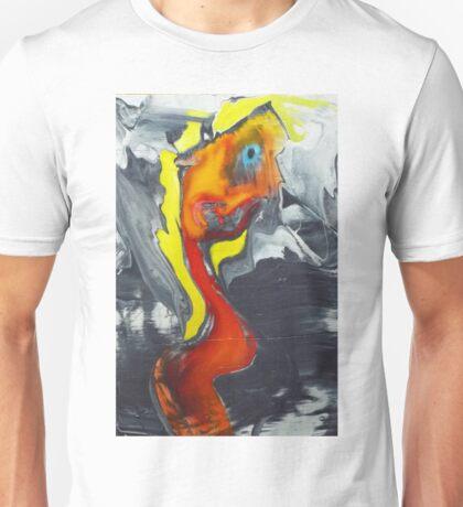 orange portrait. 16'' x 24'' oil on wood Unisex T-Shirt