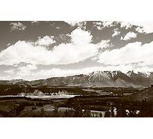 South Island, New Zealand Photographic Print