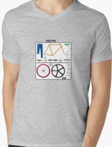 The hipster Mens V-Neck T-Shirt