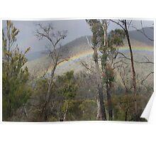 Rainbow - Aberfeldie River Valley Poster