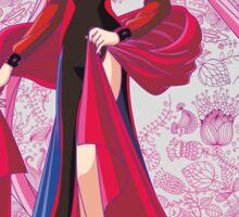 Black Lady Sailor Moon R Sticker