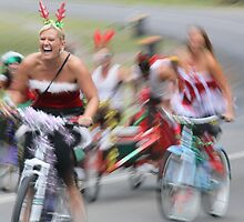 The Silly Season... Santa Ride 09 by JennyMac