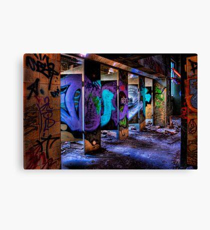 Toilet Block Canvas Print