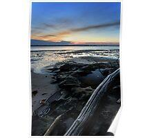 Bribie Island Sunset Poster