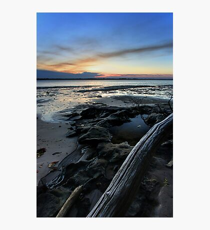 Bribie Island Sunset Photographic Print