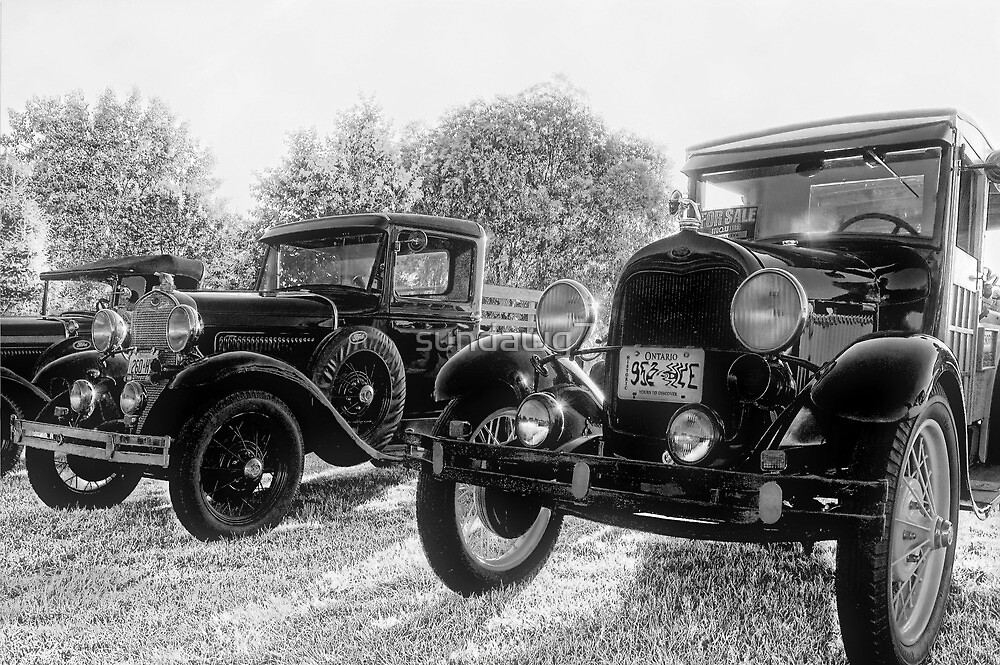 Antique Trio by sundawg7