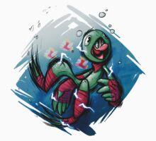 Luigi Pond Hopper Baby Tee