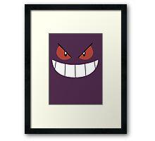Gengar Pokemon / Amazing Phil Framed Print