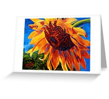 Sunflower in the Sunlight Greeting Card
