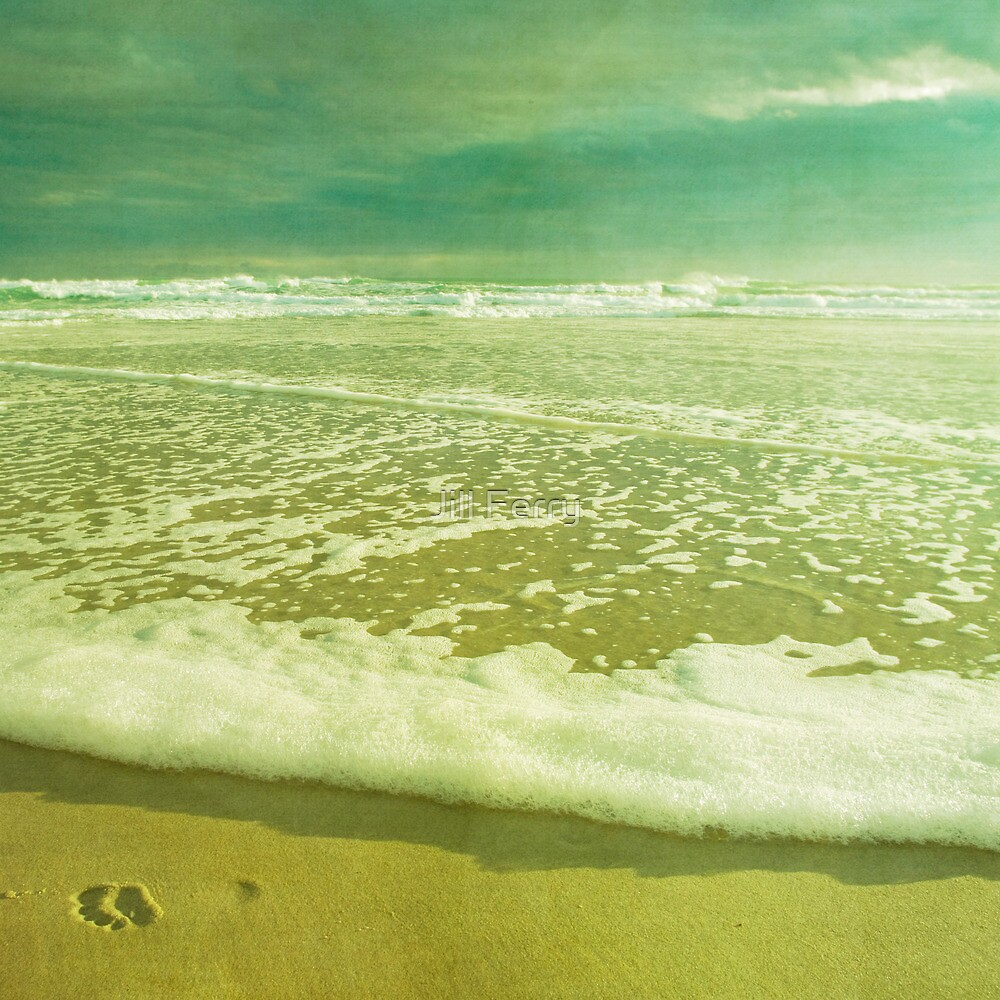 Leave only Footprints by Jill Ferry