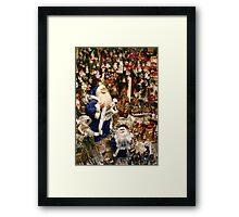 Time For Santa  Framed Print
